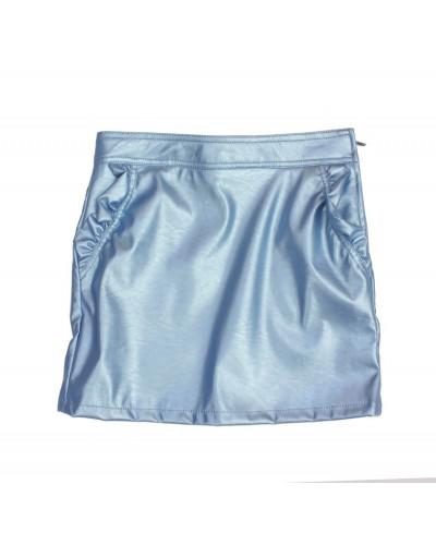 blue skirt glitter