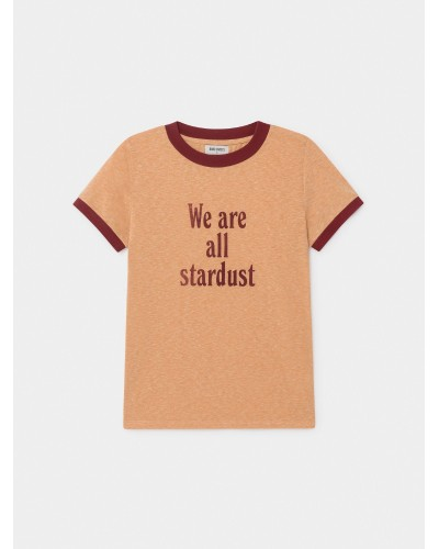 grey woman tee stardust brown