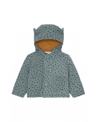 baby rib velvet jacket