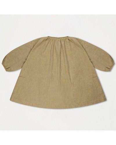 greyish tent dress