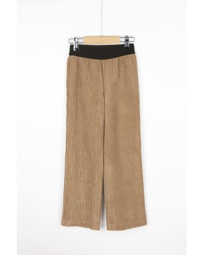 brown rib pants dorris