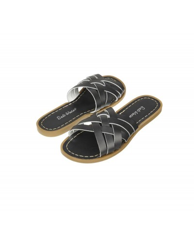 retro slide black