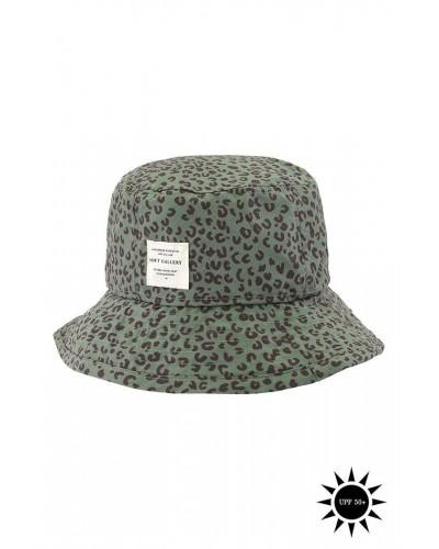 groen gevlekt hoedje