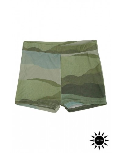 green leospots swim pants