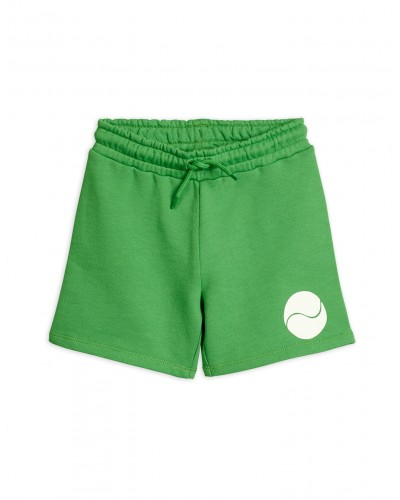 green sweatshort tennis
