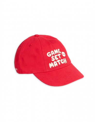 red cap game set match
