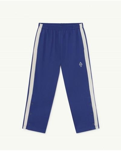 blue trousers stripe