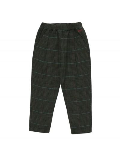 groen geruite broek