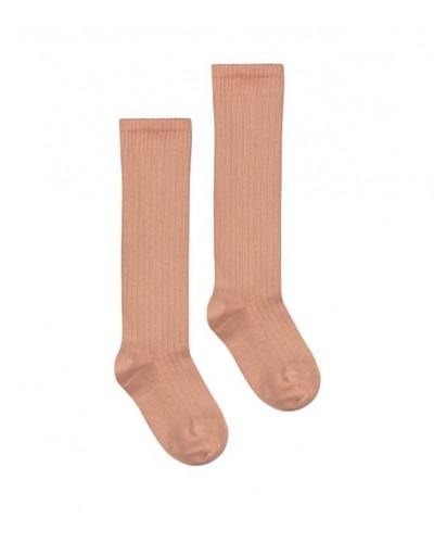roze kniesokken