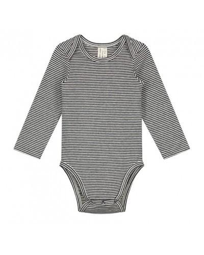 baby black &white striped onesie