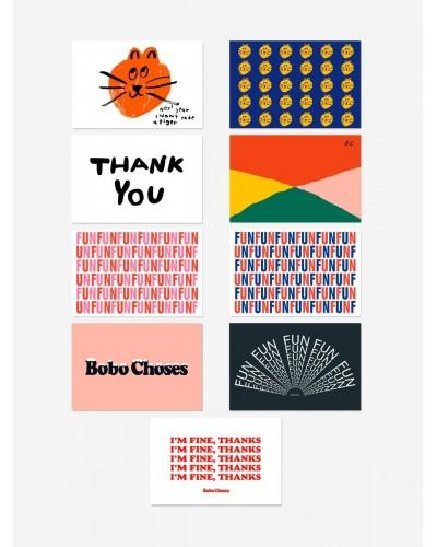 Fun wishes postcards