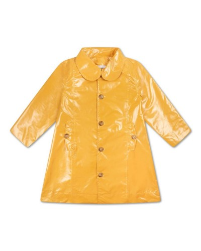 yellow raincoat