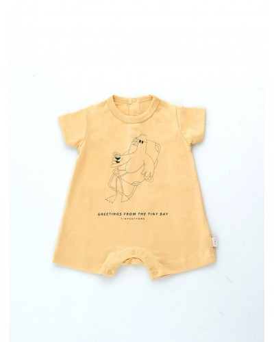 baby yellow playsuit