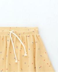 gele rok streepjes