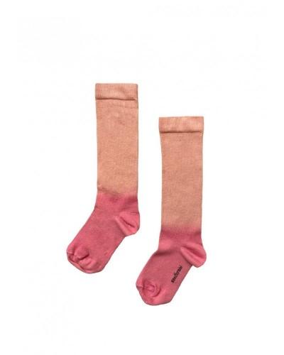 pink socks gradient