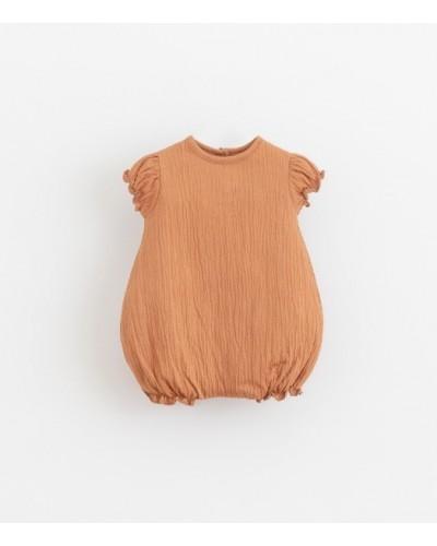 baby onesie perzik
