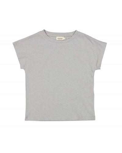 gray-blue top linen