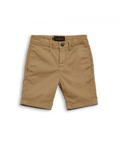 brown bermuda shorts