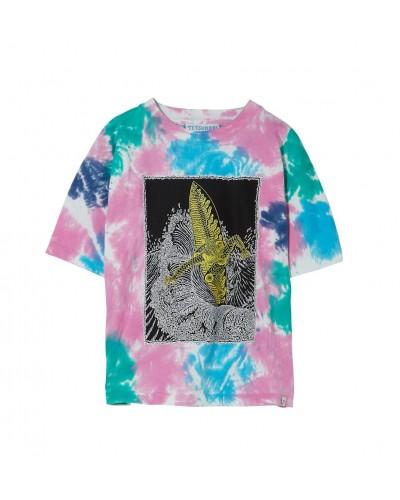 multicolor T-shirt surf