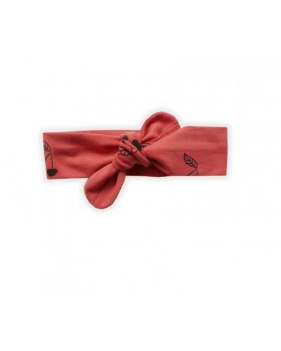 rood kersen haarband