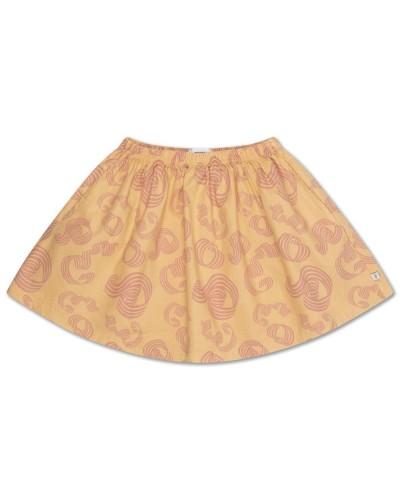 yellow skirt curl