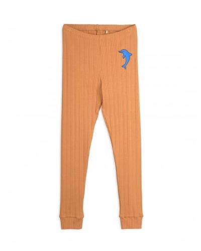 brown dolphin leggings