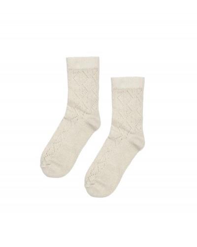 ecru sokken chique chinchilla