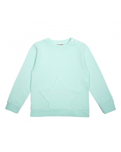 green mint sweatshirt star