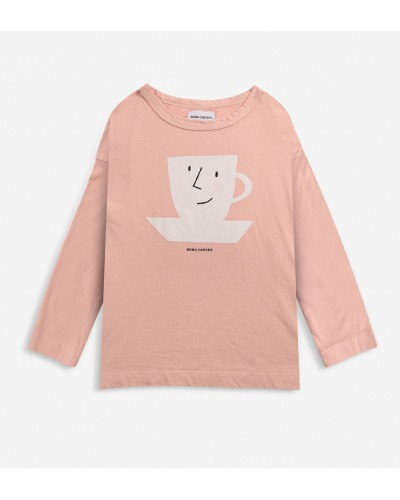 pink cup T-shirt