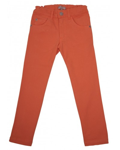 red trousers 5-pocket