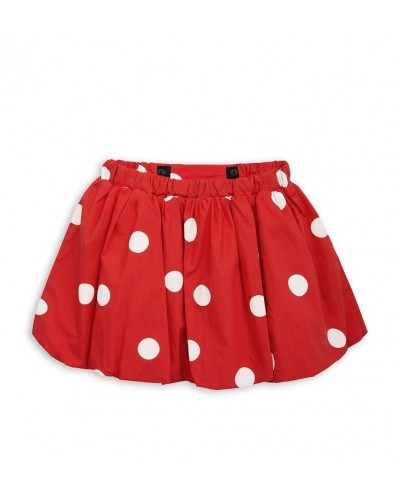 red skirt dots
