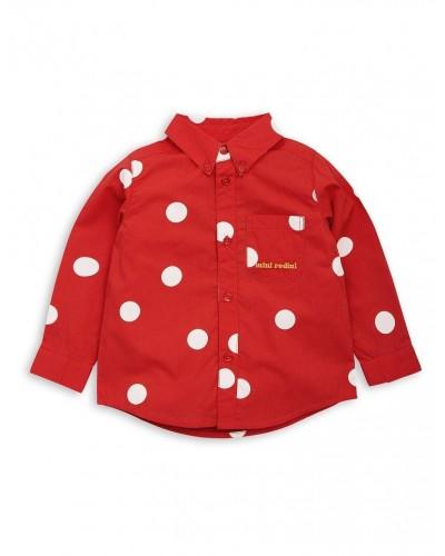 rood hemd dots