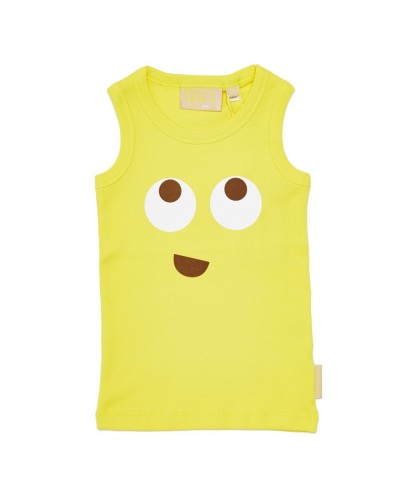 gele tank top smiley