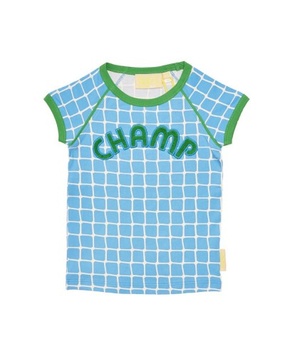 blauwe netty champ t-shirt