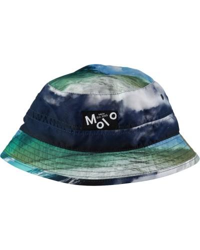 blauw hoedje oceaan