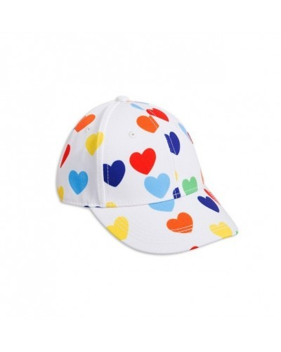 rainbow love cap