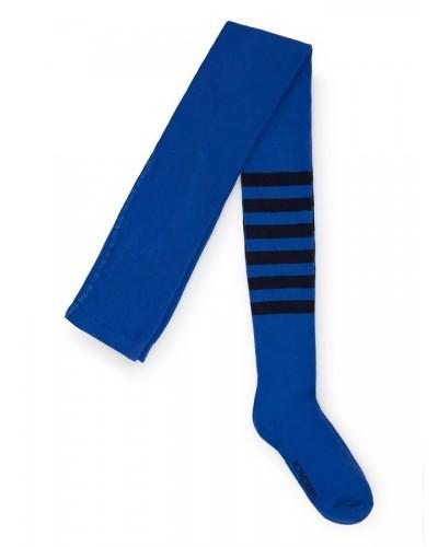 blauw gestreepte broekkousen