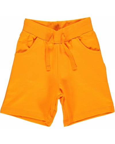 orange shorts pockets