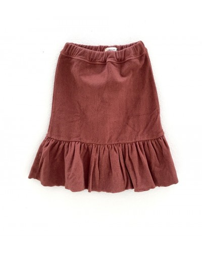 copper terry skirt