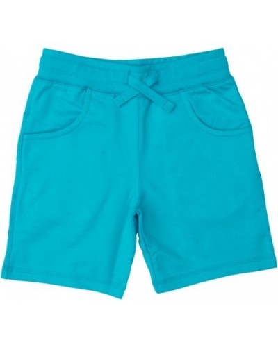 blue turquoise shorts pockets
