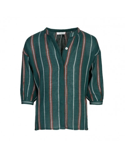 green blouse cecile