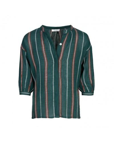groene blouse cecile