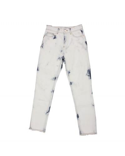 blauw-witte jeans