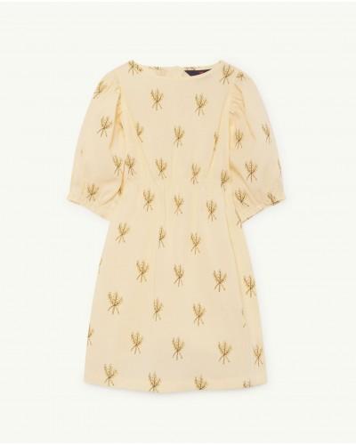 gele jurk swallow