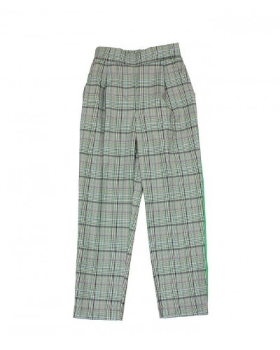 checkered pants line