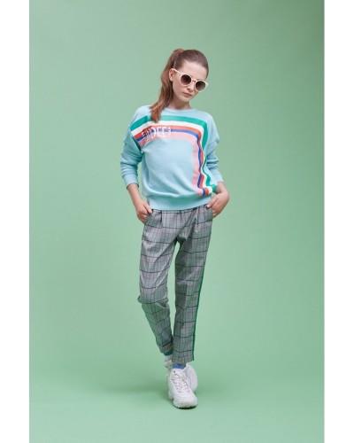 checkered pants line